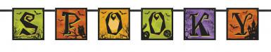 Banner Spooky per la festa di Halloween