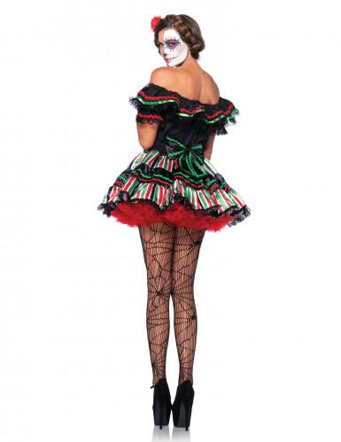 Costume Giorno dei Morti corto donna-1
