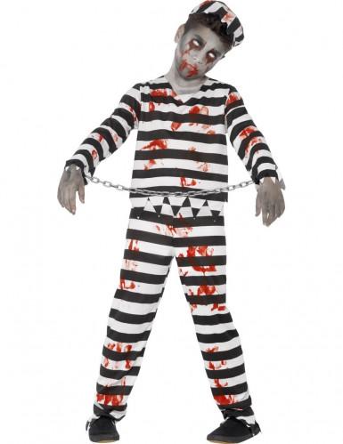 Costume Halloween bambino zombie prigioniero