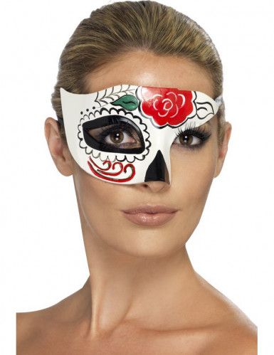 Maschera Halloween Dia de la Muerte