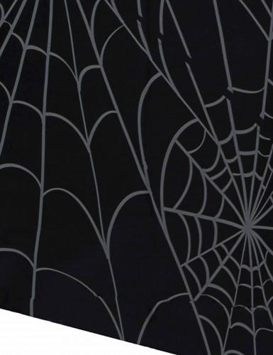 Tovaglia di plastica rettangolare con ragnatele per Halloween-1