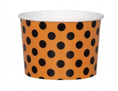 8 coppette arancioni per Halloween