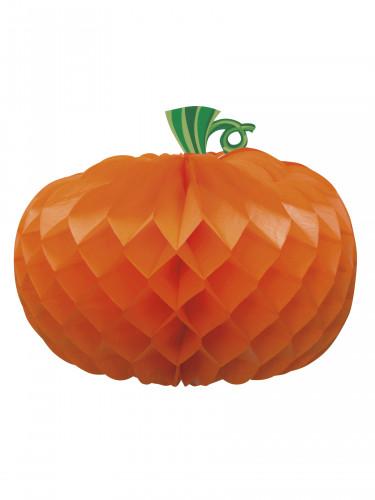 Centrotavola di carta a forma di zucca per Halloween