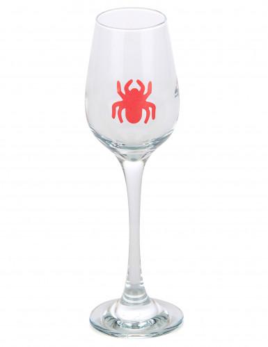 6 ragni adesivi per bicchiere di Halloween-1