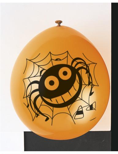 10 palloncini con ragni per Halloween-1