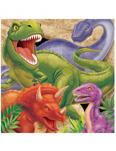 16 tovaglioli carta disegno Dinosauro