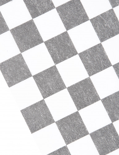 Runner da tavola tessuto non tessuto con motivo a scacchiera-1