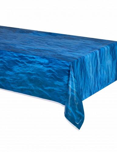 Tovaglia di plastica effetto blu oceano