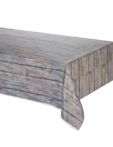 1 tovaglia dall'effetto legno rustico