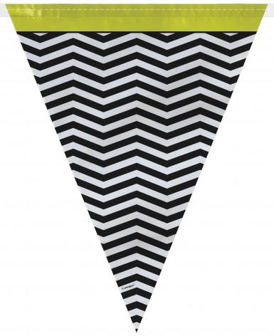 Ghirlanda di bandierine triangolari di design