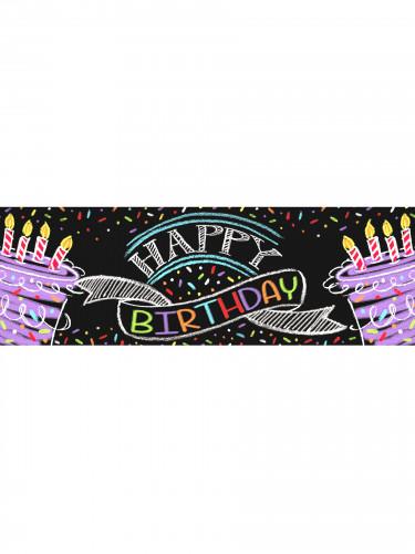 Striscione celebrativo Happy Birthday