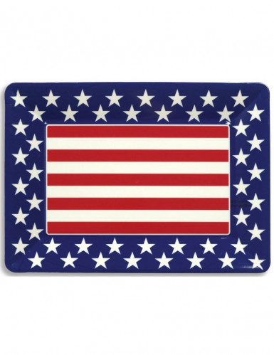 Vassoio bandiera americana