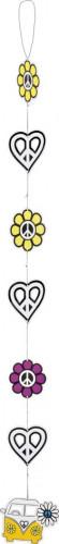 Ghirlanda Flower Power Hippie