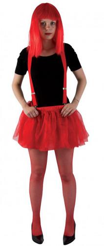 Tutù in tulle rosso per Halloween