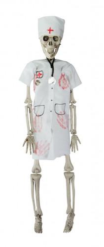Scheletro infermiera lungo 40 cm da appendere