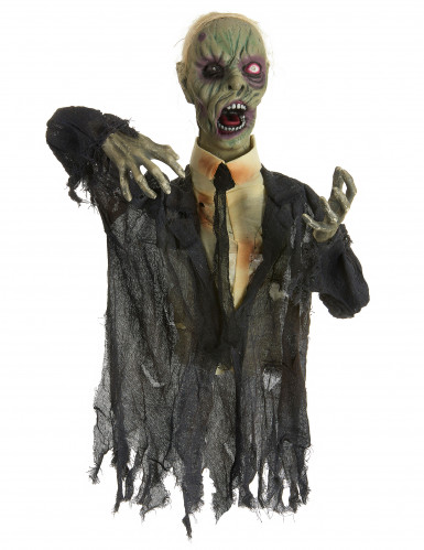Zombie animato, luminoso e sonoro decorazione halloween