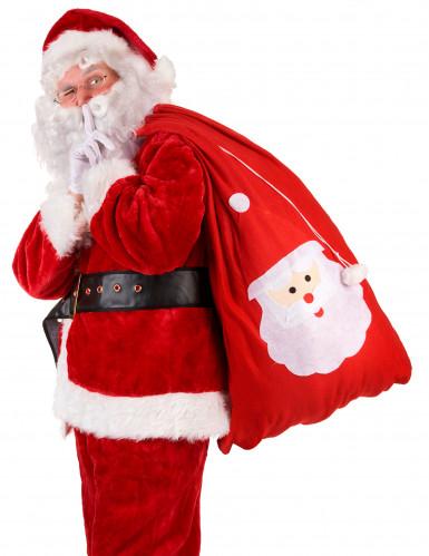 Sacco rosso porta regali di Babbo Natale-1