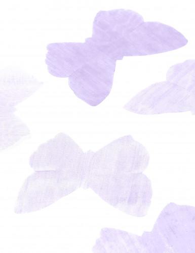 50 farfalle in organza color lilla-1