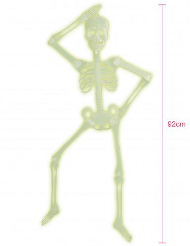 Scheletro fosforescente per Halloween-1