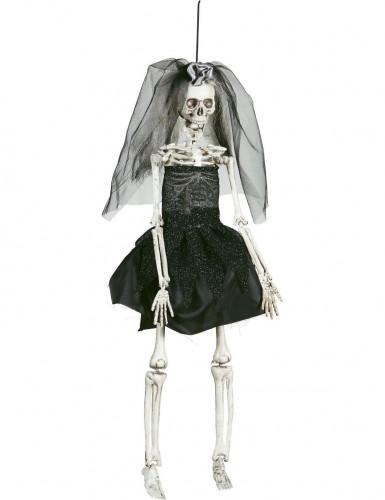 Addobbo sposa cadavere in plasticae tessuto