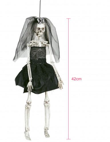 Addobbo sposa cadavere in plasticae tessuto-1