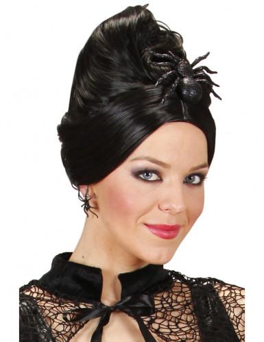 Accessorio paillettato per capelli a forma di ragno