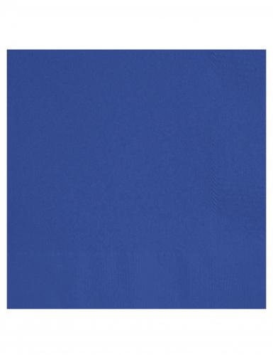 20 Tovaglioli di carta blu scuro da 33 cm x 33 cm