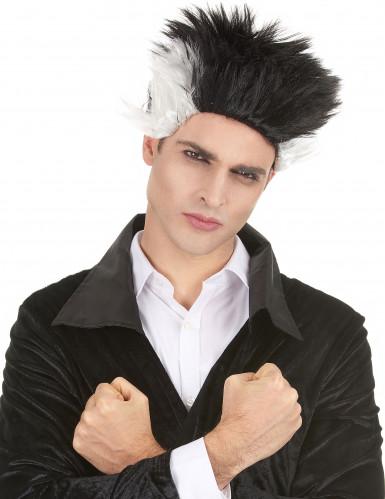 Parrucca vampiro punk per adulto
