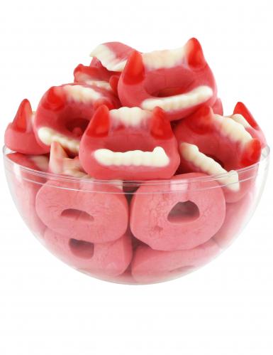 Caramelle Halloween a dentiera di vampiro-1