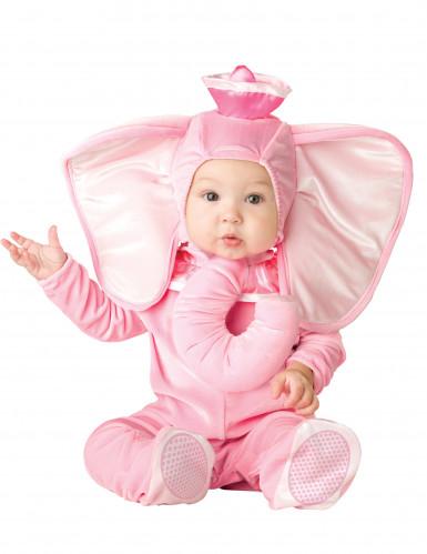Costume da elefante rosa per bambini