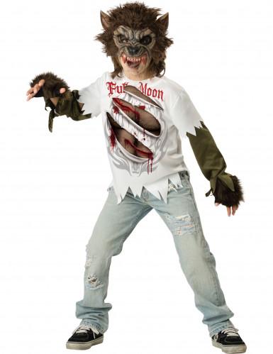 Costume da lupo mannaro per bambino