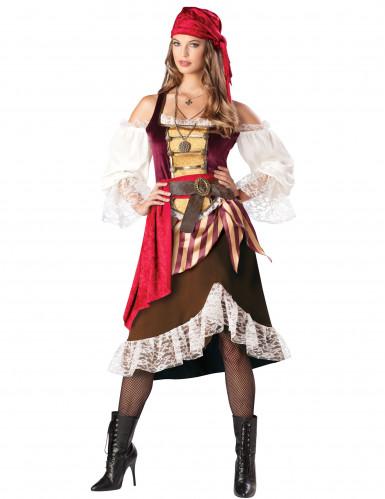 Travestimento da piratessa per donna <br />- Premium