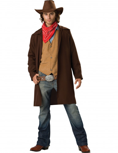 Costume da uomo Cowboy deluxe Carnevale