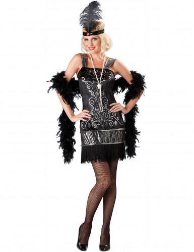 Costume da Charleston donna <br />- Premium
