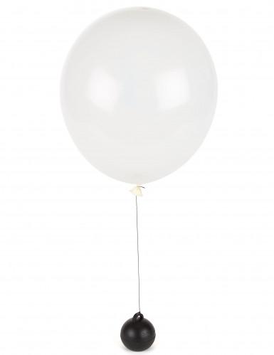 Peso nero per palloncini gonfiati ad elio-1