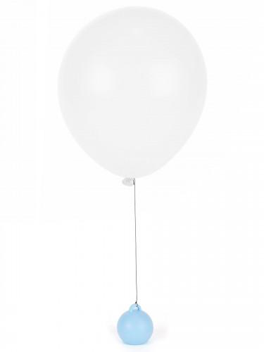 Peso per pallone ad elio color azzurro cielo-1