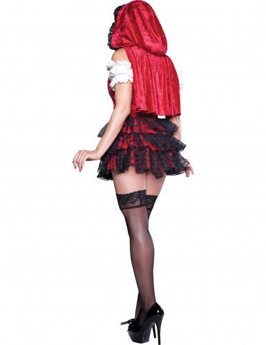 Costume di Cappuccetto Rosso per donna-1