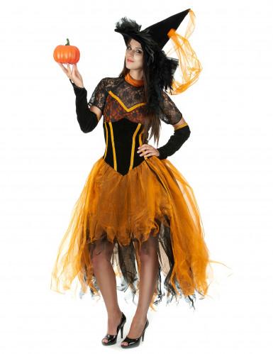 Costume strega Halloween donna-1
