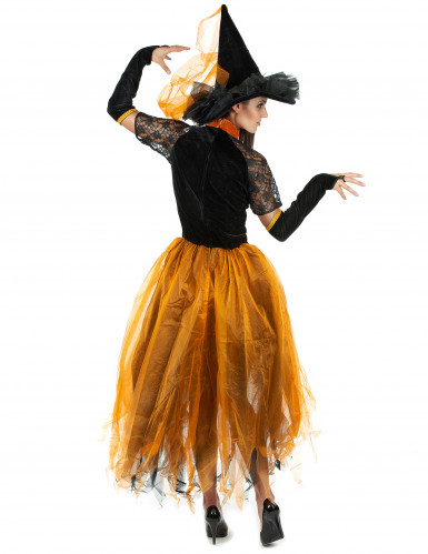 Costume strega Halloween donna-2