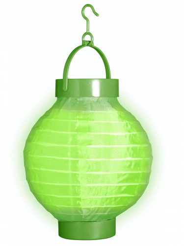 Lanterna diametro 15 cm di colore verde