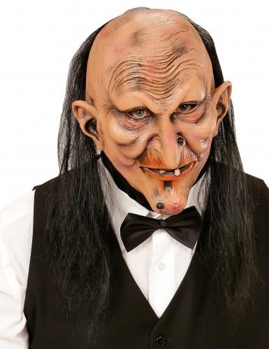 Maschera per adulto da maggiordomo terrificante
