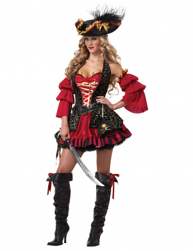 Costume da donna Pirata deluxe