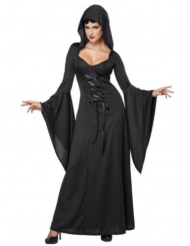 Travestimento da donna Strega Nera per Halloween