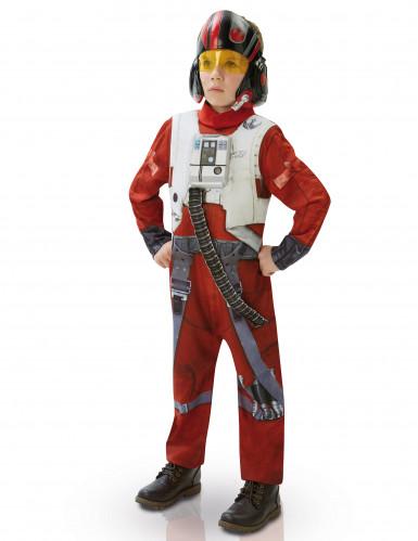 Costume da Poe pilota di X-wing <br />- originale Star Wars VII™, per bambino <br />- versione deluxe