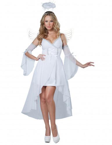 Costume Angelo del cielo da donna