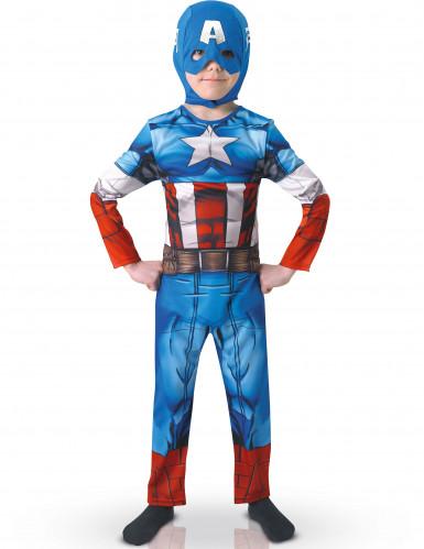 Costume da Capitan America™ per bambino <br />- The Avengers™