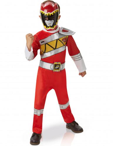 Costume rosso da Power Ranger Dino Charge deluxe