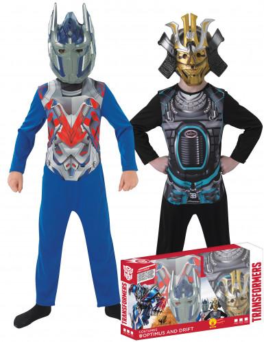 Coppia di costumi per bambini Optimus Prime™ e Drift™ Tranformers™