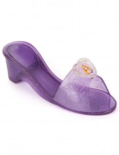 Scarpette di plastica di colore viola di Rapunzel™ per bambina