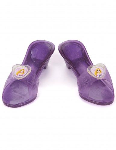 Scarpette di plastica di colore viola di Rapunzel™ per bambina-1